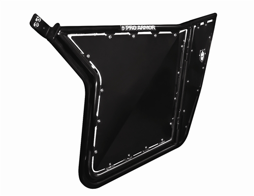 Pro Armor RZR Doors W/O Cut-Outs (Black) - Fits all RZRs and 900