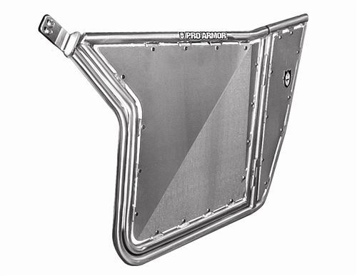 Pro Armor RZR Doors W/O Cut-Outs (Brushed) - Fits all RZRs and 9