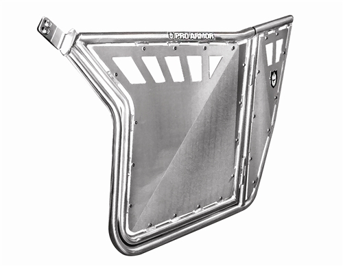 Pro Armor RZR Doors with Cut-Outs (Brushed) - Fits all RZRs and
