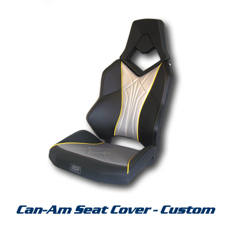 Twisted Stitch Seat Cover - Can-Am Commander