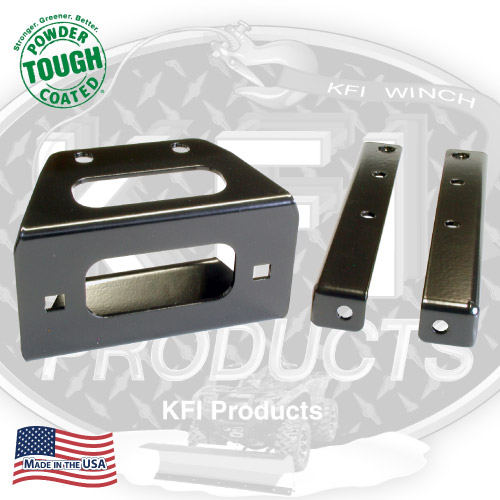 KFI Winch Mount Bracket for Polaris RZR, RZR S and RZR 4