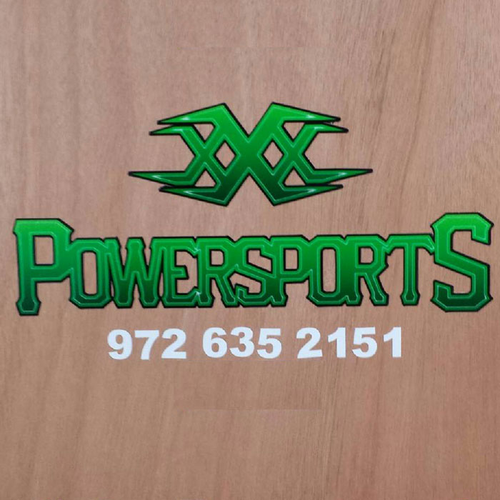 xXx Powersports Decal - Truck
