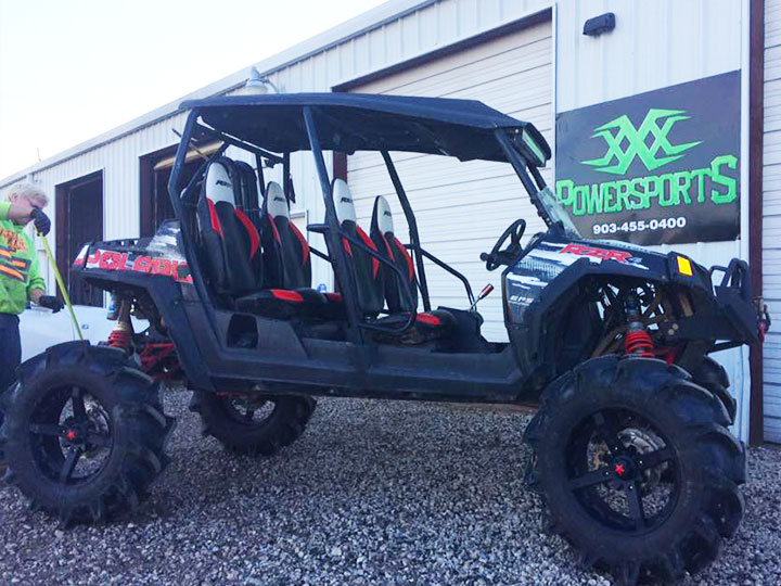 can-am commander radiator relocation and roll cage conversion by xxx powersports