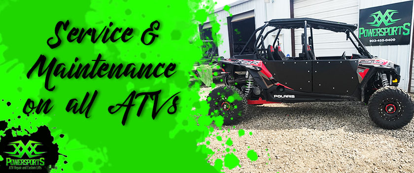 xxx powersports atv utv sxs repair, part and accessories